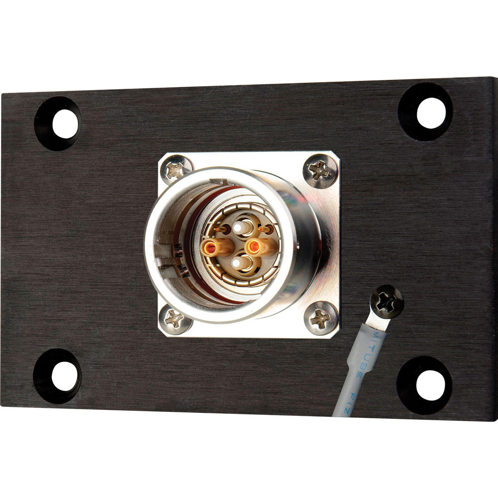 Camplex HYMOD-1R02 SMPTE EDW Jack to 2 ST Fiber & 5-Pin AMP for 1RU HYMOD Systems