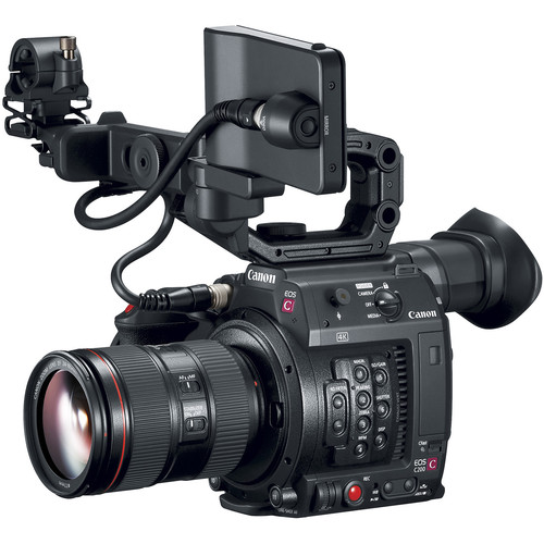 Canon EOS C200 with EF 24-105m