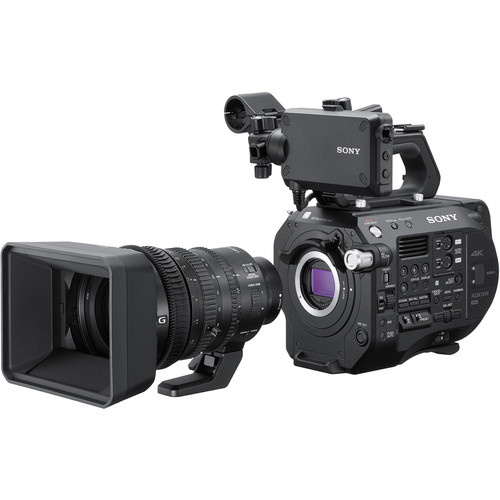 Sony PXW-FS7M2 4K XDCAM Super 35 Camcorder Kit with 28-135mm Zoom Lens