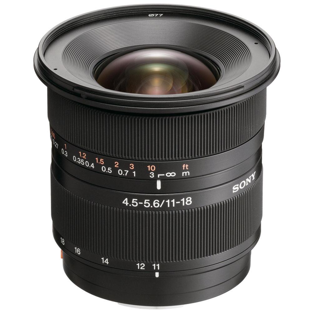 Sony DT 11-18mm f/4.5-5.6 Lens