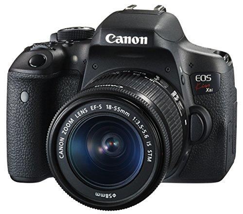 Image of Canon Digital SLR Camera EOS Kiss X8i Lens Kit EF-S18-55 Mm F3.5-5.6