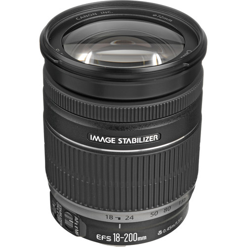 Compare Prices Of  Canon EF-S 18-200mm F/3.5-5.6 IS Lens