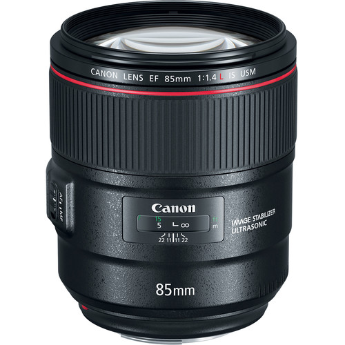 Canon EF 85mm f/1.4L IS USM Le