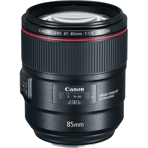 Image of Canon EF 85mm F/1.4L IS USM Lens