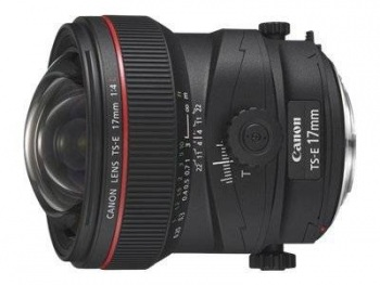 Image of Canon TS-E 17mm F/4L Tilt-Shift Lens