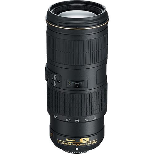 Image of Nikon AF-S NIKKOR 70-200mm F/4G ED VR Lens