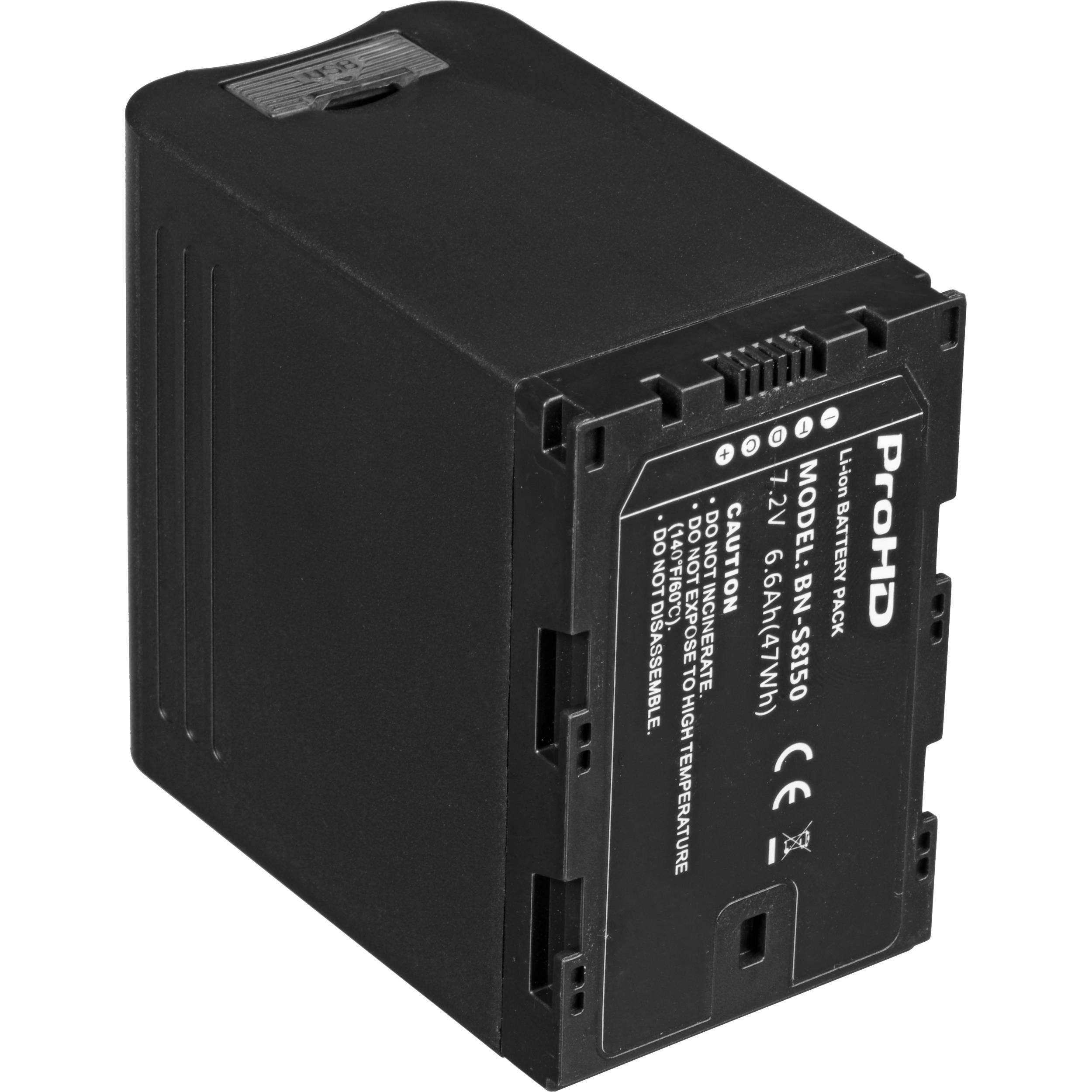 7.2V/6.6Ah LITHIUM ION BATTERY