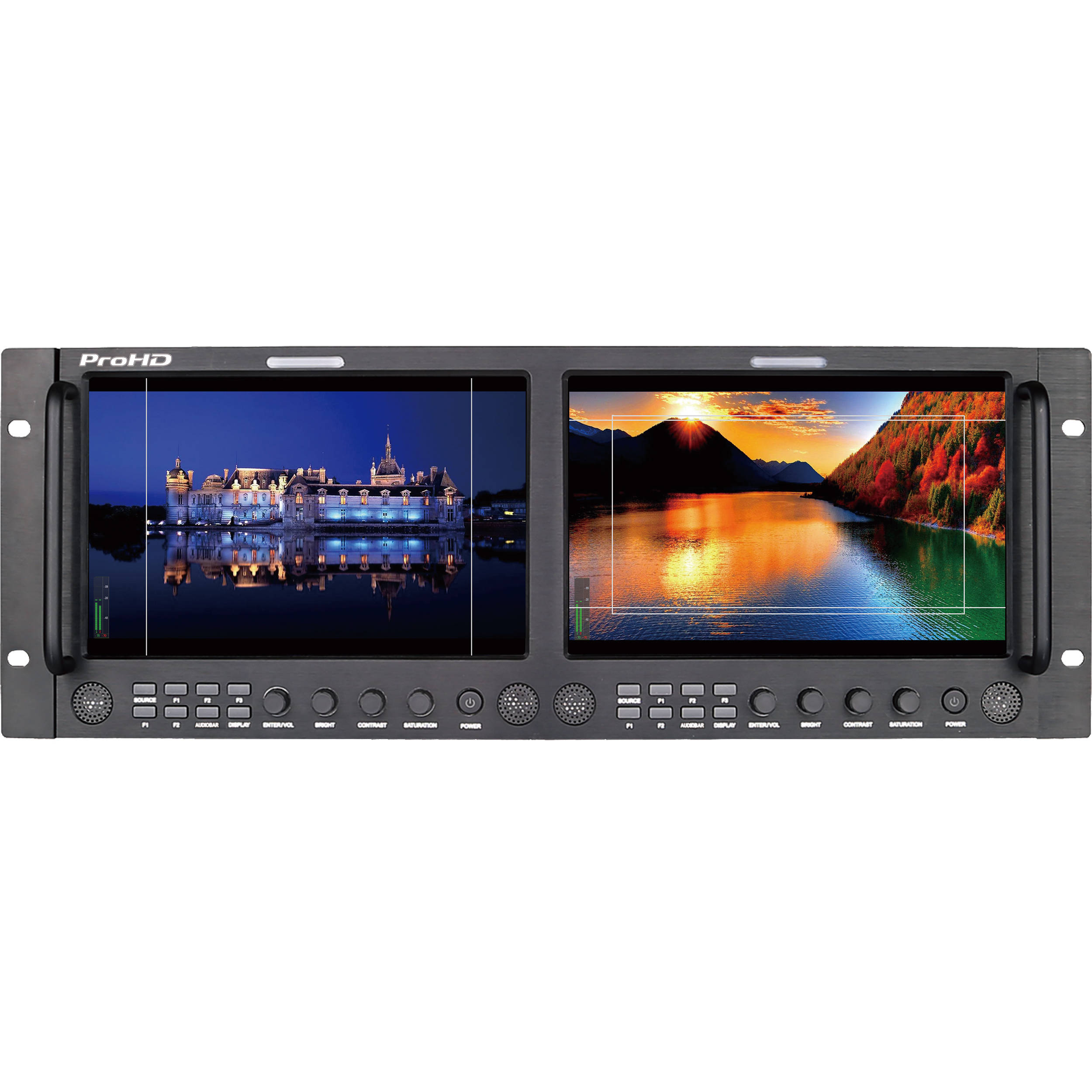 ProHD DUAL 9-IN RACK DISPLAY M