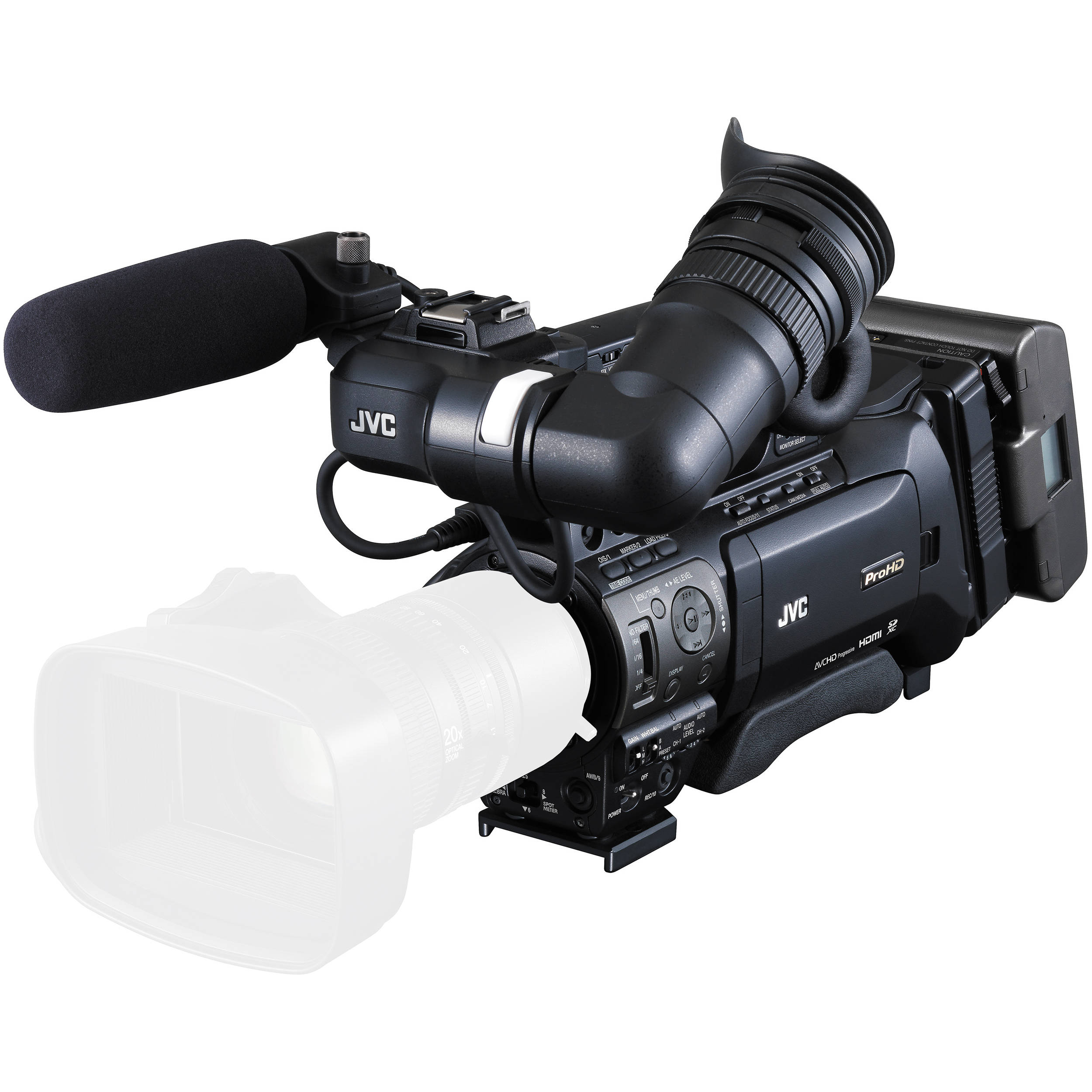 ProHD SHOULDER CAMCORDER (LESS