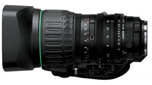 14:1 CANON ZOOM LENS (1/3-in BAYONET MOUNT)