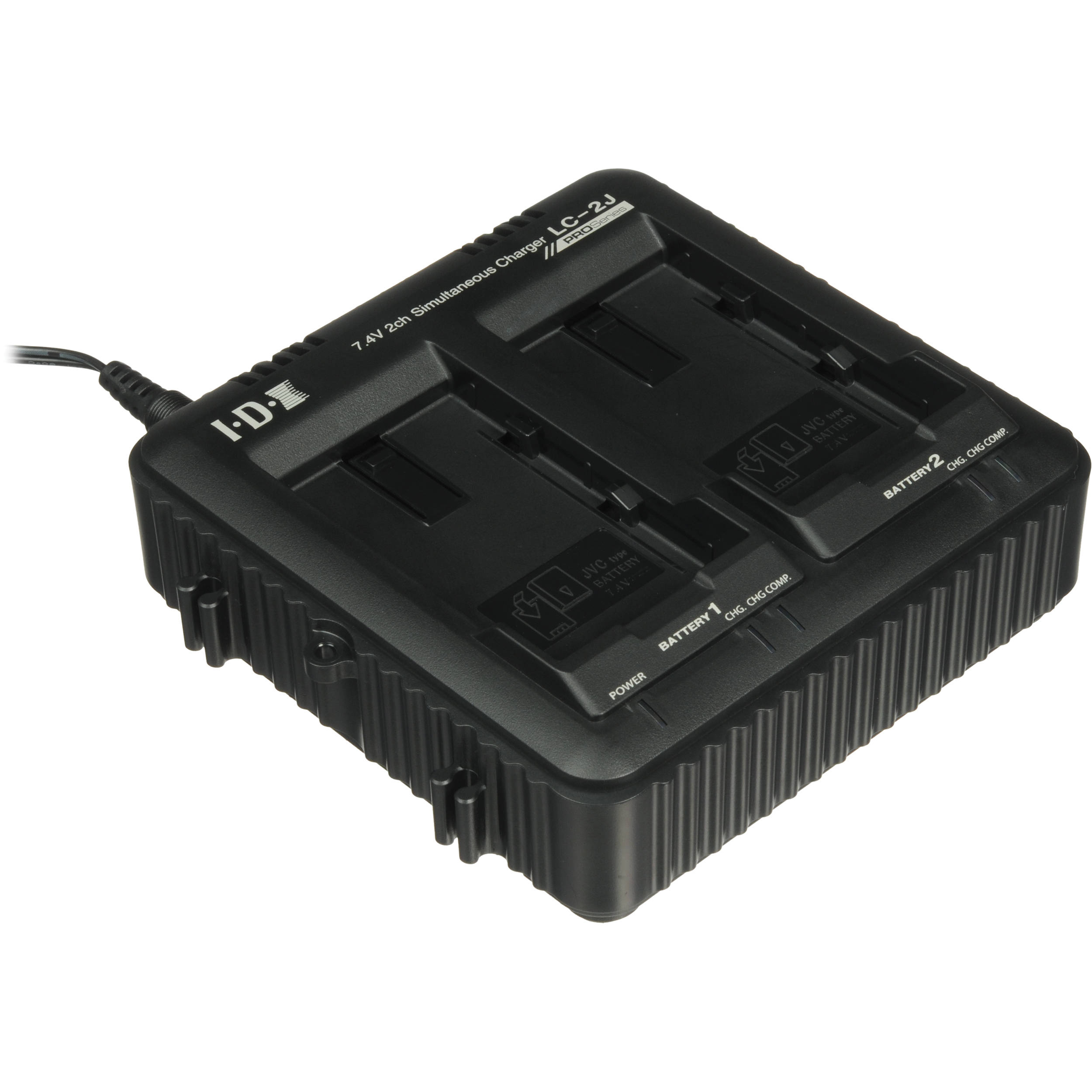 2 CHANNEL CHARGER FOR SSL-JVC50/75 LITHIUM ION BATTERY