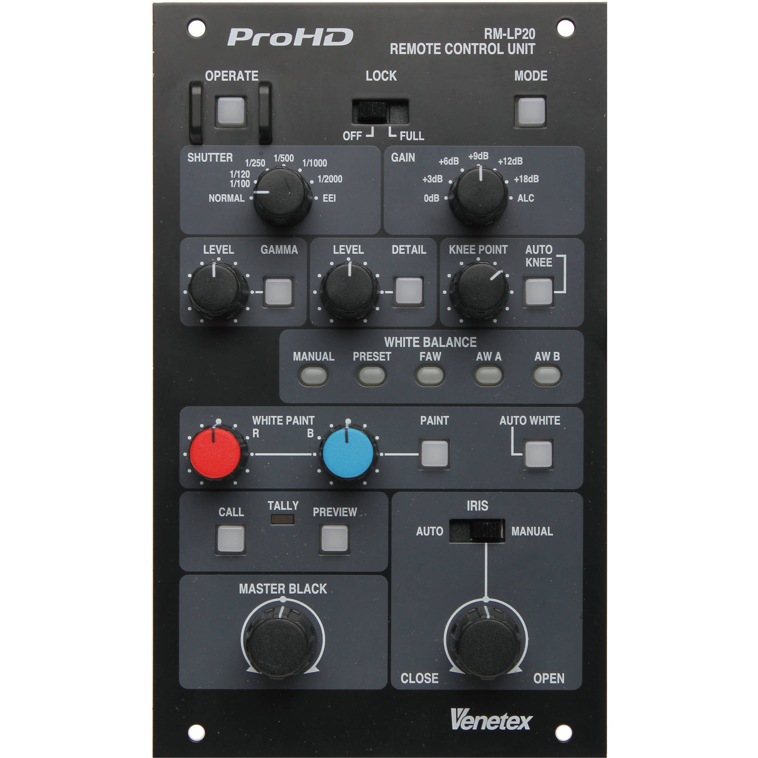 ProHD REMOTE CONTROL UNIT