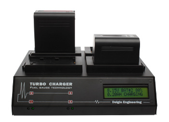QUAD TURBO CHARGER (w/CHARGE-D