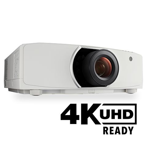 NEC NP-PA653U Projector and Le