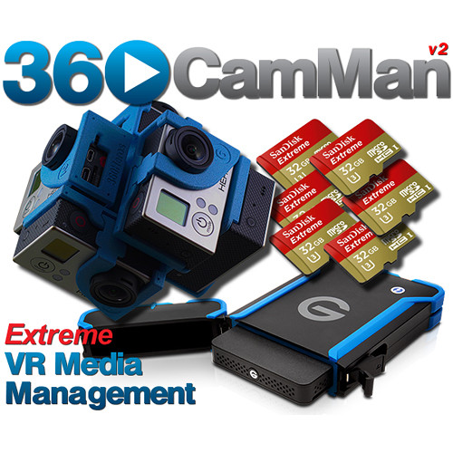 360Rize 360CamMan? V2 VR Media