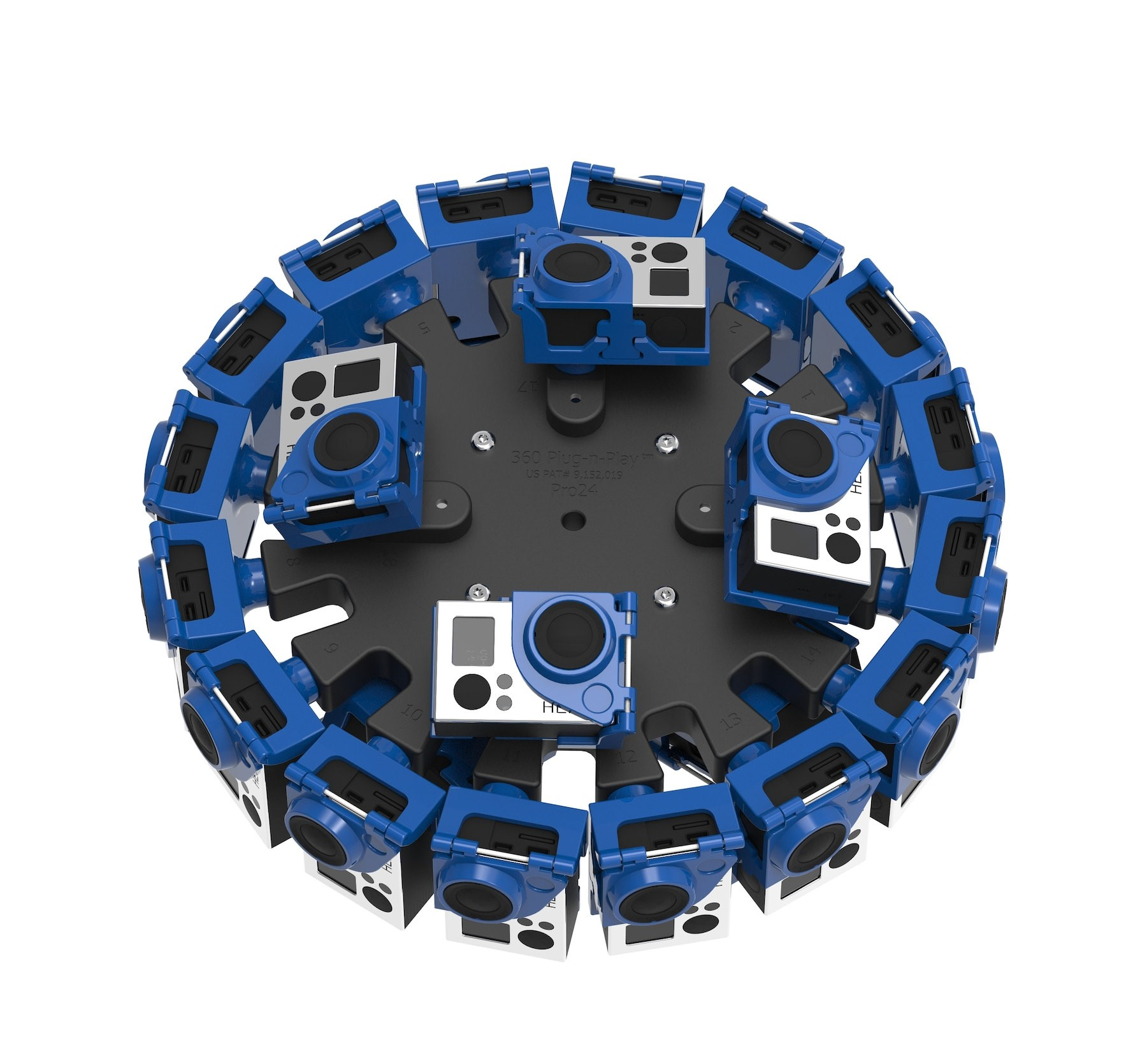 360Rize 360Orb 24-Camera 2D/3D