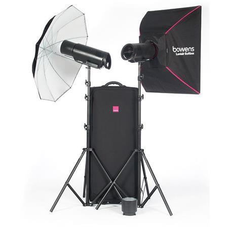 Bowens XMS500 2-head UM/SB kit