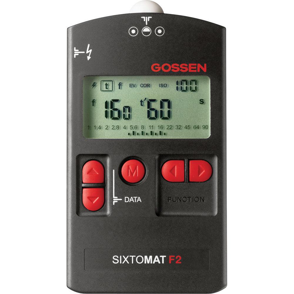 Gossen Light Meter Sixtomat F2
