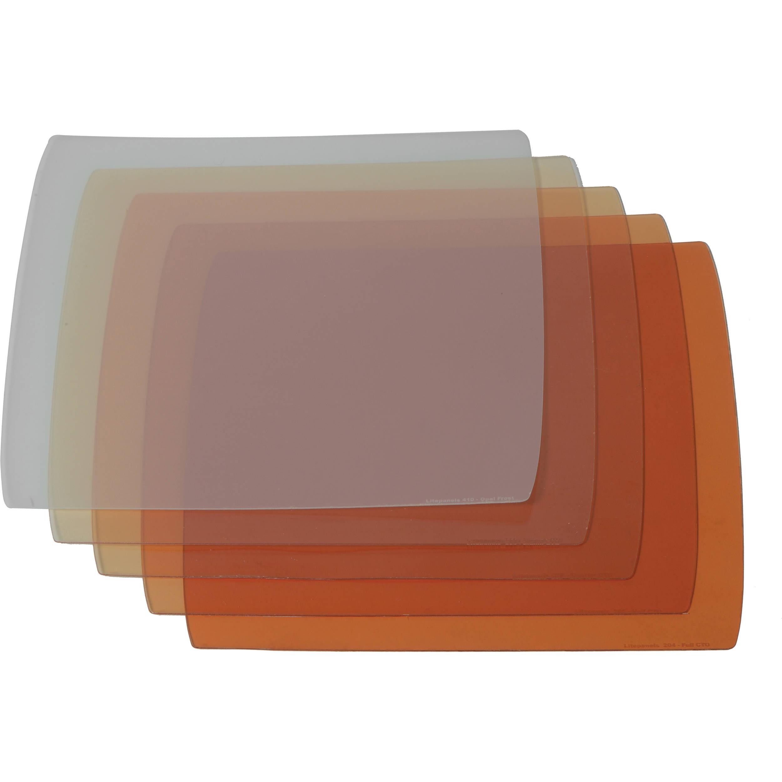 Astra 1x1 5-piece CTO Gel Set