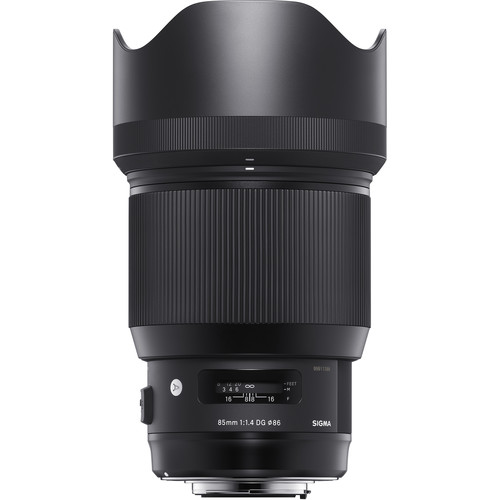 Sigma 85mm F1.4 Art DG HSM For