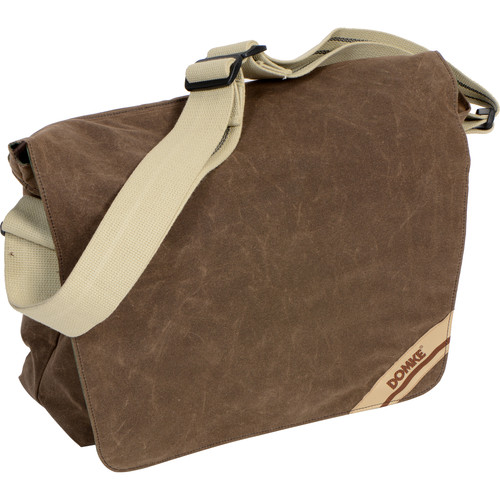 DOMKE MED MESS BAG - BROWN RUG