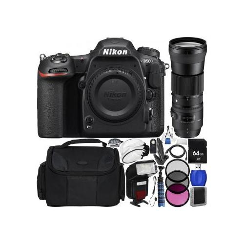 Nikon D500 DSLR Camera with Si