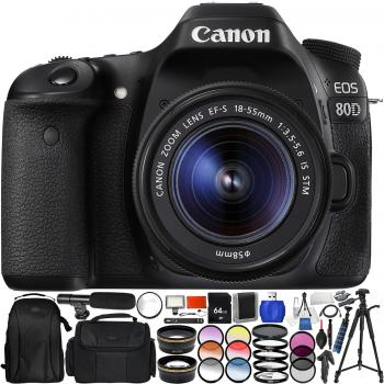 Canon EOS 80D DSLR Camera with