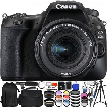 Canon EOS 200D Rebel SL2 DSLR