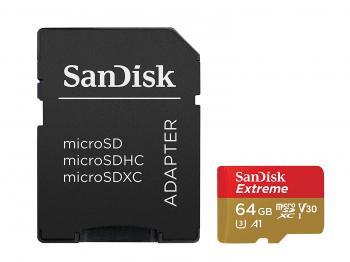 SanDisk Extreme 64GB microSDXC