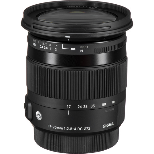 Sigma 17-70mm F2.8-4 Contempor