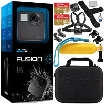 GoPro Fusion with Accessory Bu