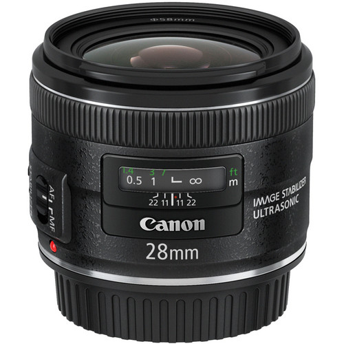 Canon EF 28mm f/2.8 IS USM Len