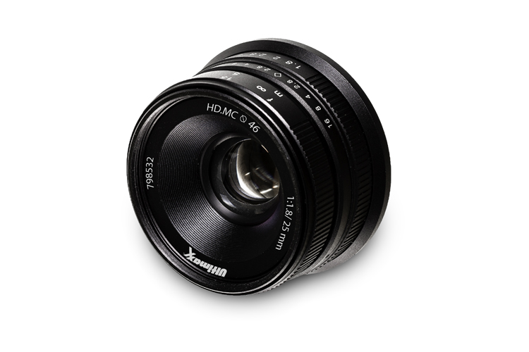 Ultimaxx 25mm f/1.8 Manual Len