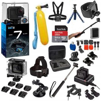 GoPro HERO7 Black Bundle
