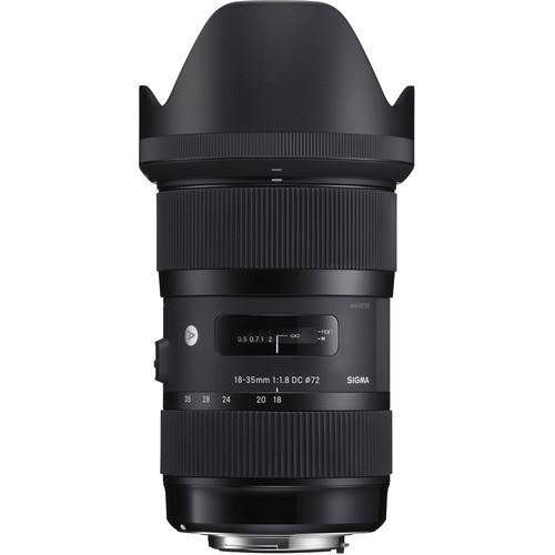 Sigma 18-35mm f/1.8 Art DC HSM Lens for Canon EF DSLR Cameras Professional Bundle