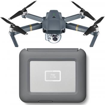 DJI Mavic Pro Drone with LaCie