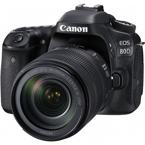 Canon EOS 80D with 18-135mm IS