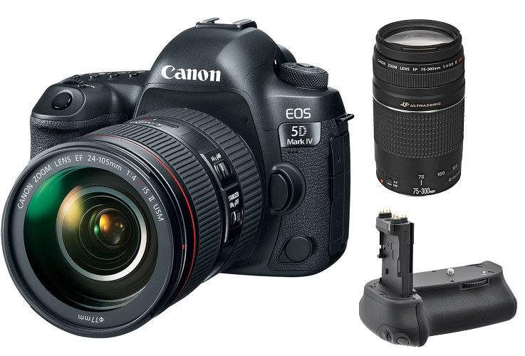Canon EOS 5D Mark IV with 24-1