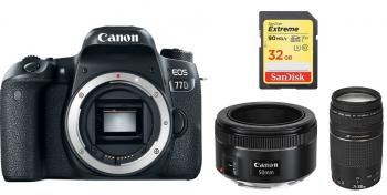 Canon EOS 77D DSLR Camera with