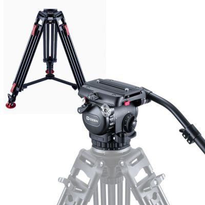 System 6CF2HDS 75mm AGILE 6S (S-LOC) + 75CF2HD w/MLS100 & deep-tread rubber feet + SoftCase 100