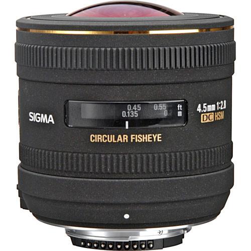 Sigma 4.5mm F2.8 EX DC HSM Cir