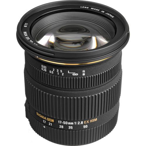 Sigma 17-50mm F2.8 EX DC OS HS