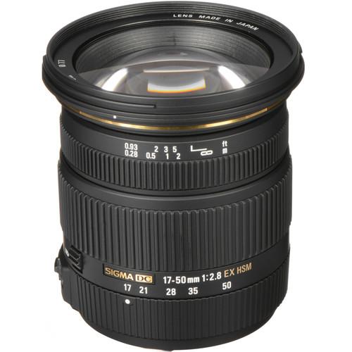 Sigma 17-50mm F2.8 EX DC HSM F