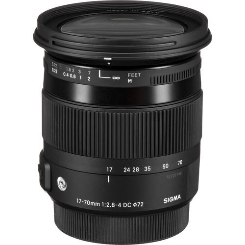 Sigma 17-70mm F2.8-4 Contempor