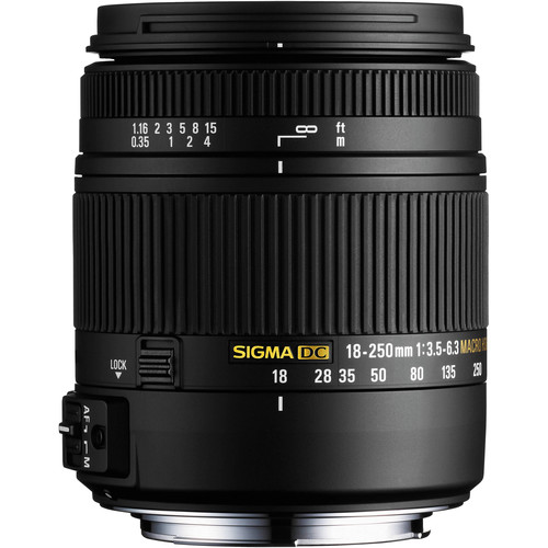 Sigma 18-250mm F3.5-6.3 DC Mac