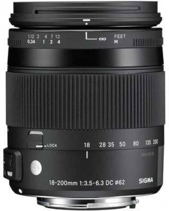 Sigma 18-200mm F3.5-6.3 Contem