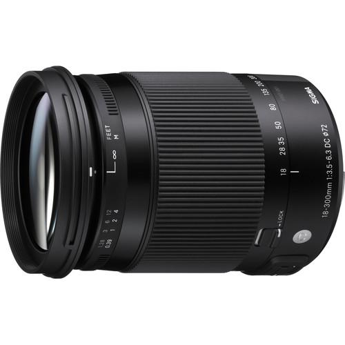Sigma 18-300mm F3.5-6.3 Contem
