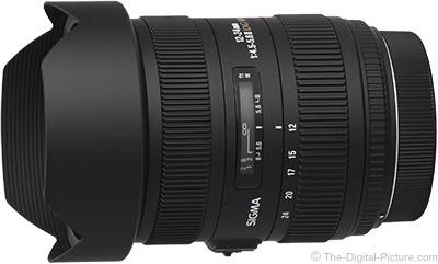 Sigma 12-24mm F4.5-5.6 II EX D