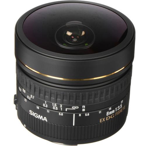 Sigma 8mm F3.5 EX DG Circular
