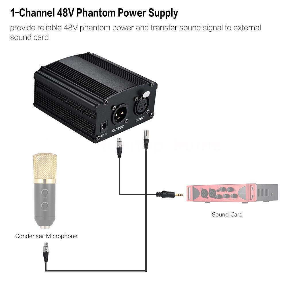 Ultimaxx 1-Channel 48V Phantom